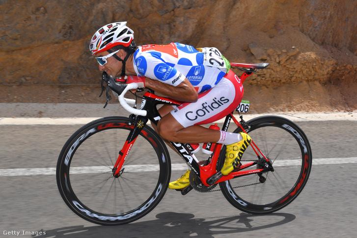 Luis Angel Maté a 2018-as Vuelta a Espanán