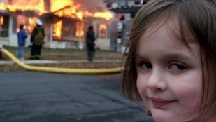 Disaster Girl, az ikonikus mémfigura már 19 éves