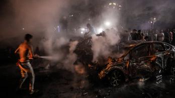 Robbanás történt hajnalban Kairóban