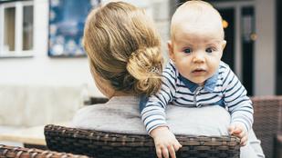 A személyiségedről árulkodik, hogyan tartod a kisbabát