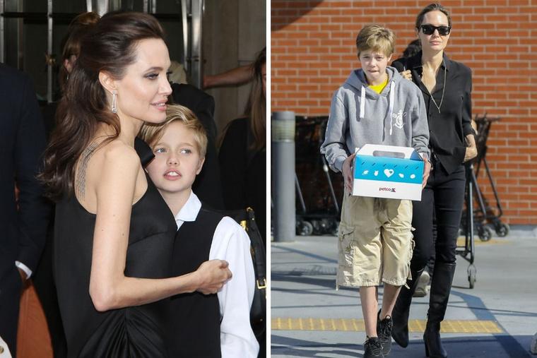 Shiloh Jolie-PittAngelina Jolie és Brad Pitt 13 éves lánya évek óta a fiú ruhákat preferálja
