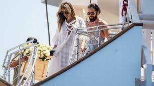 Heidi Klum és Tom Kaulitz ezen a luxusjachton tartotta meg lakodalmát