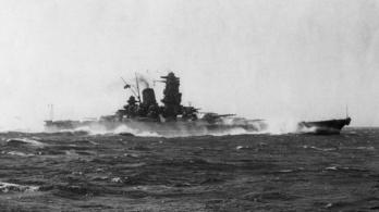A japánok legnagyobb hajóágyújának lökéshulláma lenyúzta a bőrt a közelben álló matrózokról