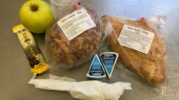 Cáfolja az ORFK, hogy ehetetlen szendvicseket kapnának a rendőrök