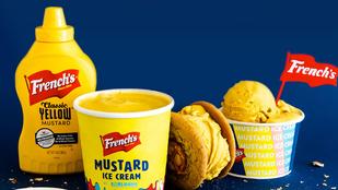 Izgalmasan gusztustalan: így készíthet magának ön is mustárfagyit