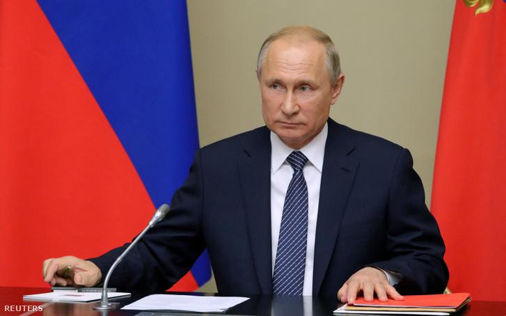 Vlagyimir Putyin 2019. augusztus 5-én.