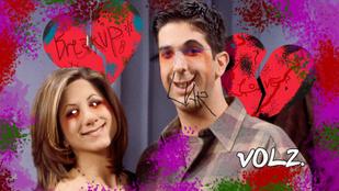 Rachel és Ross óta tudjuk, hogy már a szerelem se biztos
