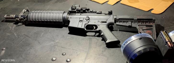 A daytoni merénylő, Connor Betts fegyvere.