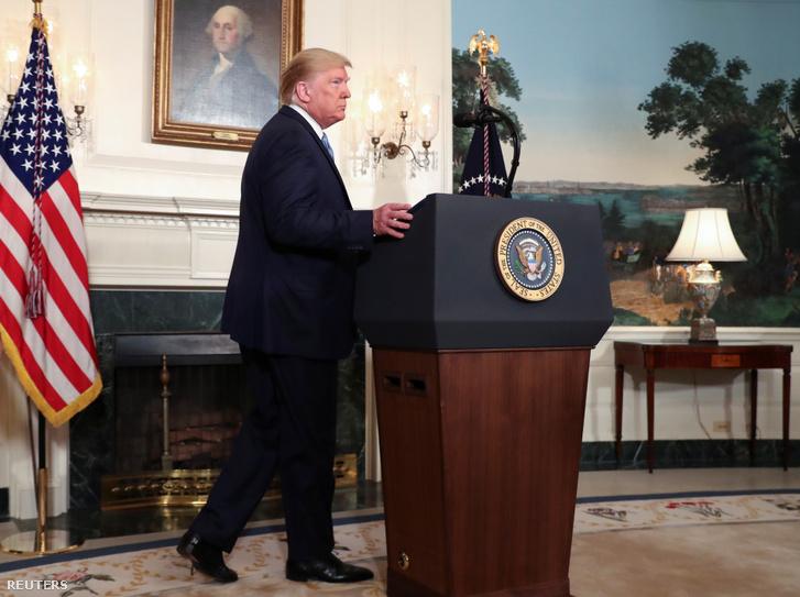 Donald Trump 2019. augusztus 5-én.