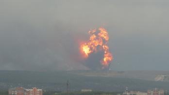 Felrobbant egy orosz lőszerraktár, ezreket kellett kitelepíteni