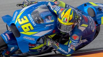 300 km/h-nál bukott teszten a MotoGP-versenyző