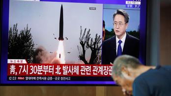 Észak-Korea újabb rakétateszteket hajtott végre
