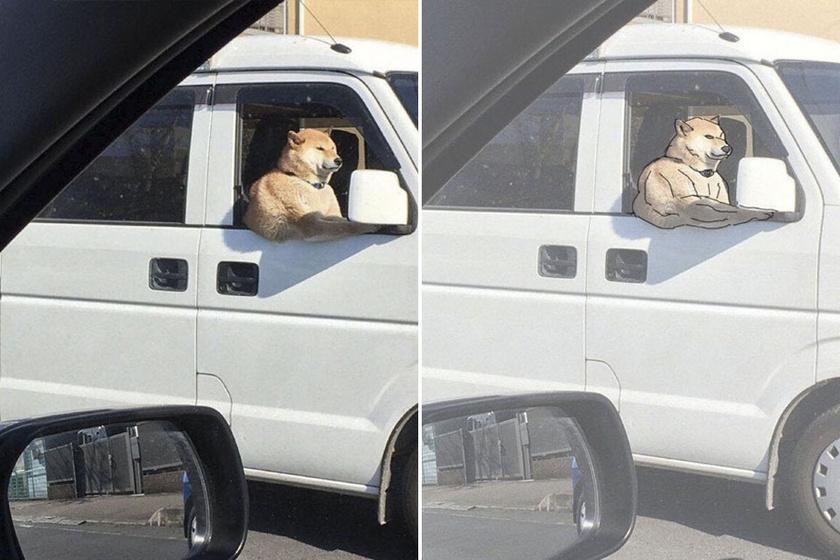 Mintha egy kigyúrt kutya könyökölne ki lazán a kocsi ablakán: nem kötnénk bele.