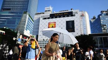 Nyolc nap alatt 57 ember halt meg a hőség miatt Japánban