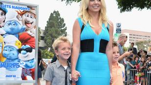 Ilyen nagyok már Britney Spears fiai