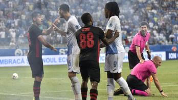 10 millió forintra és részleges stadionbezárásra büntette az UEFA a Honvédot