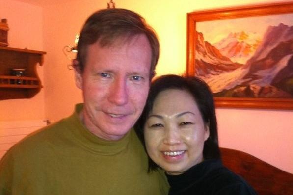 Peter és felesége Quee Choo Chadwick