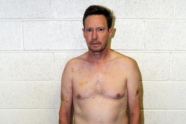 Peter Chadwick egy héttel a letartóztatása után 2012. október 17-én