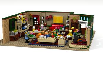 Lego lesz a Jóbarátokból