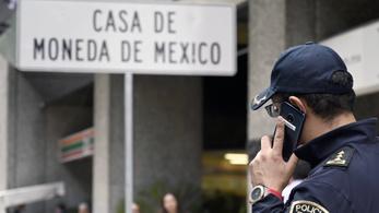 2,5 millió dollárnyi aranyérmét raboltak egy mexikói pénzverdéből