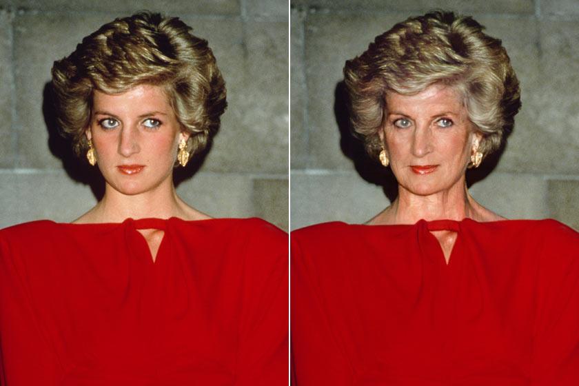 Diana hercegnő hatvanasként is álomszép nő lenne - büszkén viselné a ráncait.