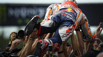 A MotoGP unalomba fulladt