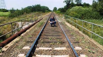 Valaki ki akarta siklatni a vonatot Berettyóújfalunál
