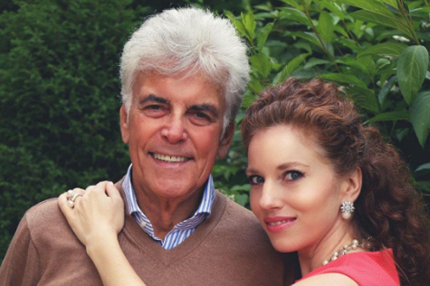 Meglepő, Ernyey Béla hol csókolta meg 38 évvel fiatalabb feleségét először