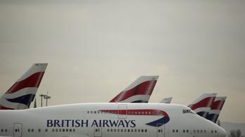 Informatikai hiba miatt késésekre kell számítaniuk a British Airways utasainak