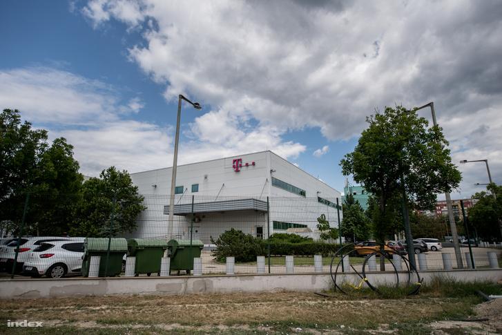 T-Systems adatközpontja az Asztalos Sándor úton