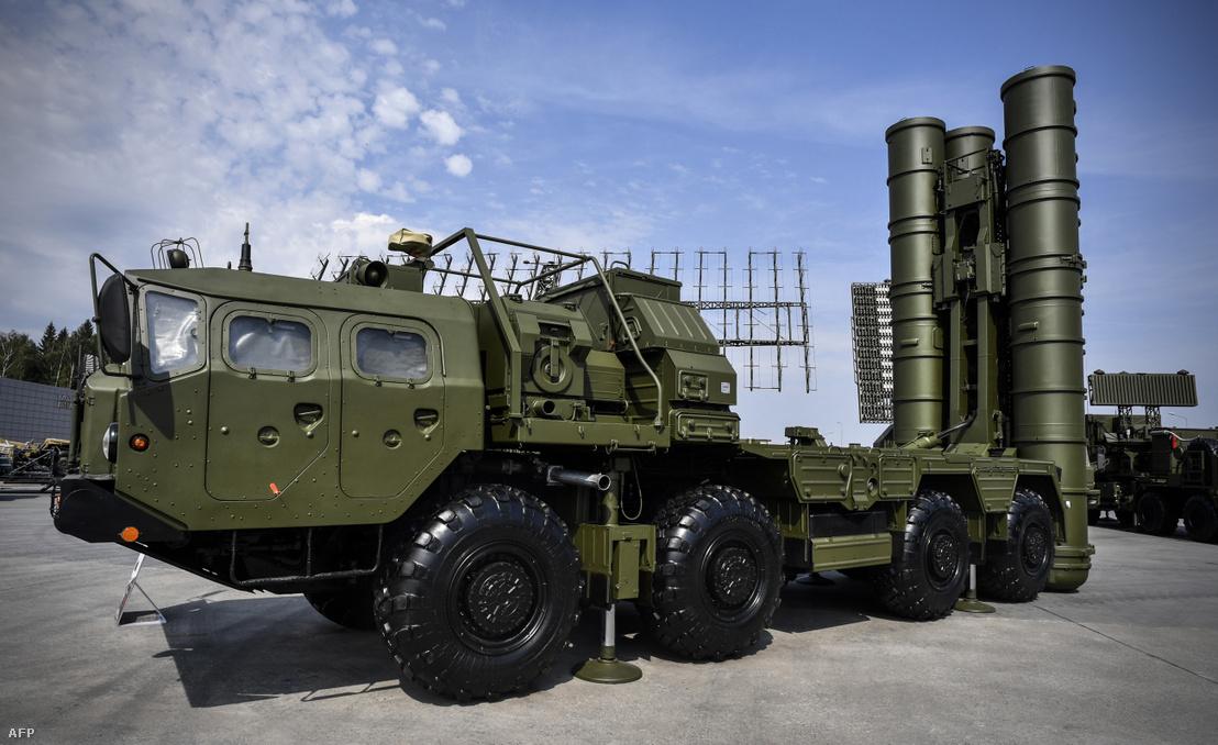 Sz-400-as rakétavédelmi rendszer