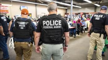 680 embert állítottak elő Amerika történetének egyik legnagyobb menekültügyi razziájában
