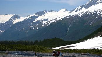 Soha ilyen meleg nem volt még a július Alaszkában