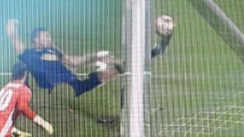 3D-s fotó a bizonyíték: bent volt a Fradi sokat vitatott gólja