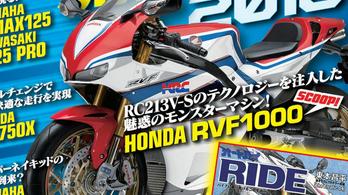 Újabb pletykában bukkant fel a Honda RVF1000