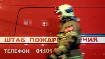 Tesztelés közben robbant fel egy rakéta hajtóműve Oroszországban