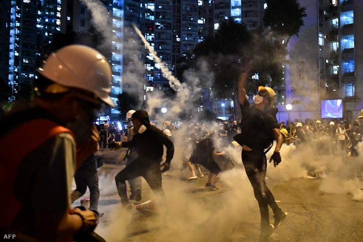 Hongkong 2019. augusztus 5.