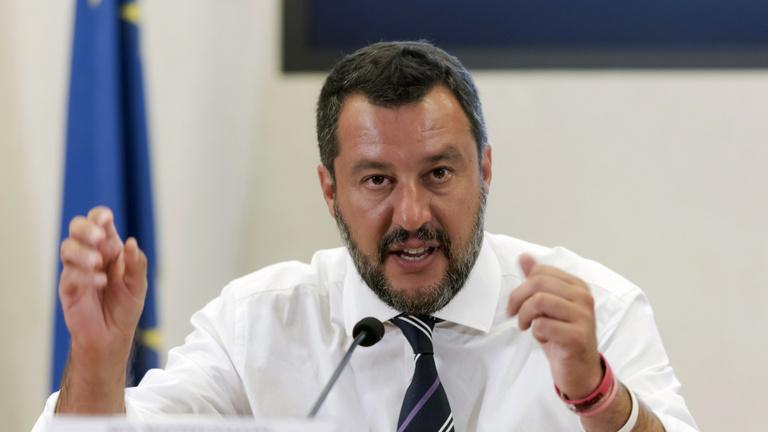 Salvini felmondta az olasz kormánykoalíciót