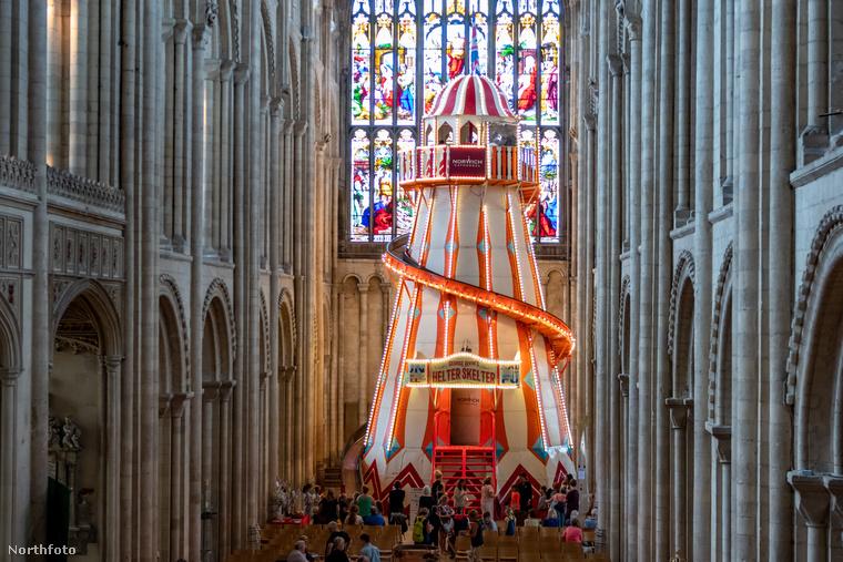 Extrém módon szeretnék templomba csalogatni és ott rendhagyó élményben részesíteni a turistákat az angliai Norwich-ban