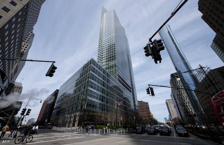 A Goldman Sachs New York-i székháza