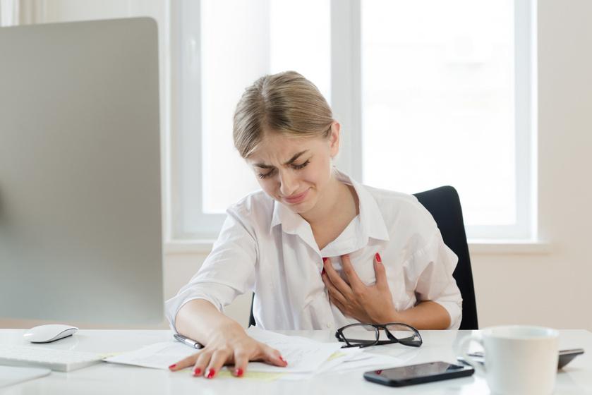 szívbetegség, stressz
