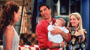 Eddig nem látott rész került ki a netre a Jóbarátokból, amiből kiderül, milyen jó apa volt Ross