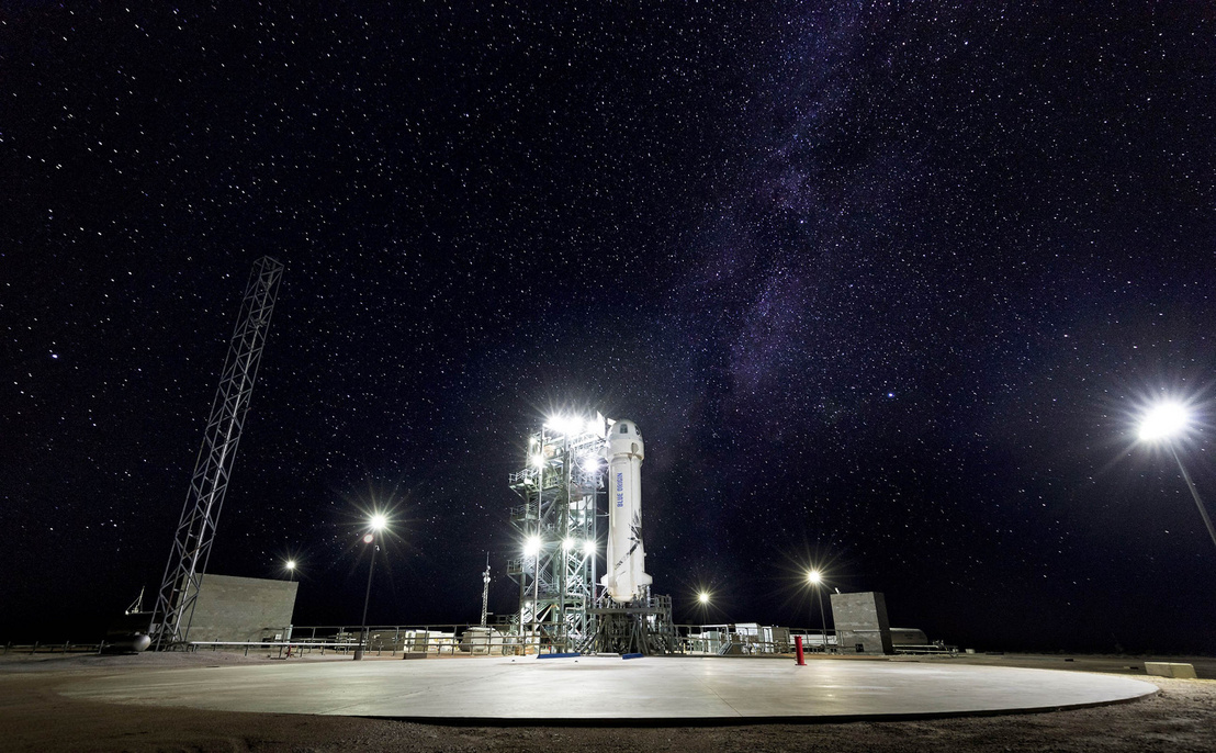 BlueOrigin NewShepard M9 StarsOnPad