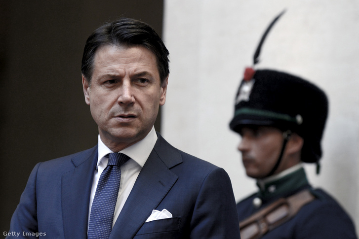 Guiseppe Conte miniszterelnök