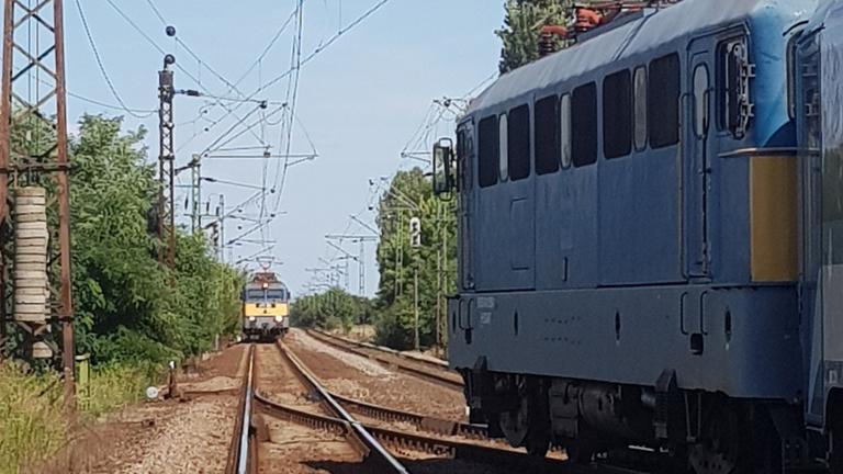 Majdnem katasztrofális vonatbaleset történt Hort mellett