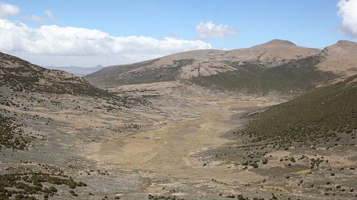 A helyszín, ahol a település nyomaira bukkantak