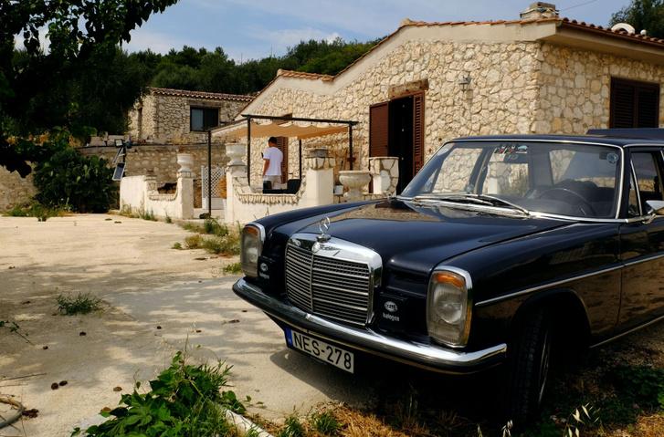 Airbnb szállásunk Mattinatában