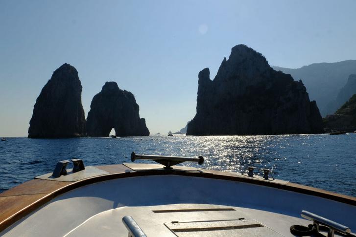 Capri a tengerről mindenképpen csinos hely