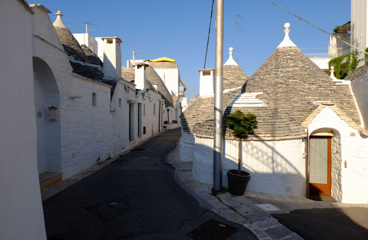 Alberobello egy igazi skanzen