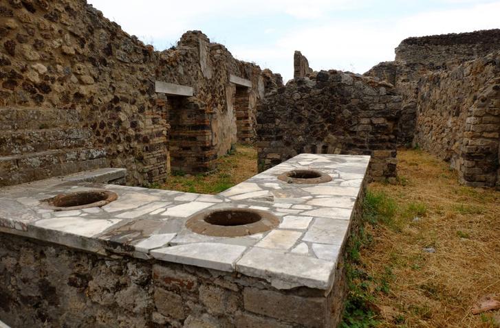 Konyhapult egy pompeji házban